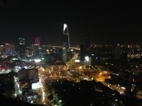 A view of Ho Chi Minh City from Sky Bar.