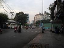 A brisk morning walk through Saigon