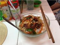 Ben Thanh market food