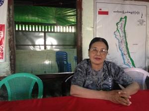 ANP leader in Myanmar