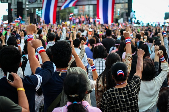 Thailand's protest year