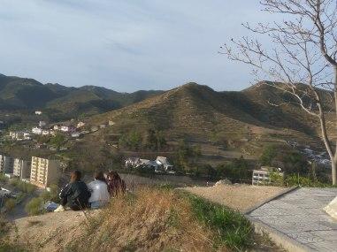 Overlooking Chongjin city