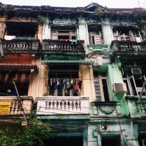 The colours of Yangon