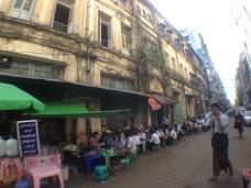The bustle of Yangon